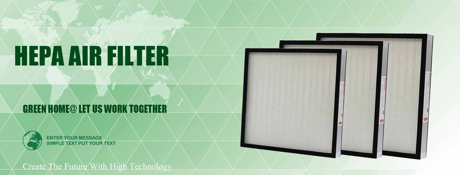 Maintenance information sharing of high efficiency air filter equipment