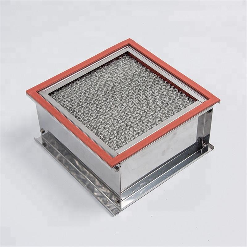 Luftfilter med høy effektivitet og høy temperatur