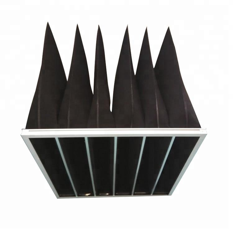 Proizvođači HVAC džepni zračni filter s aktivnim ugljenom